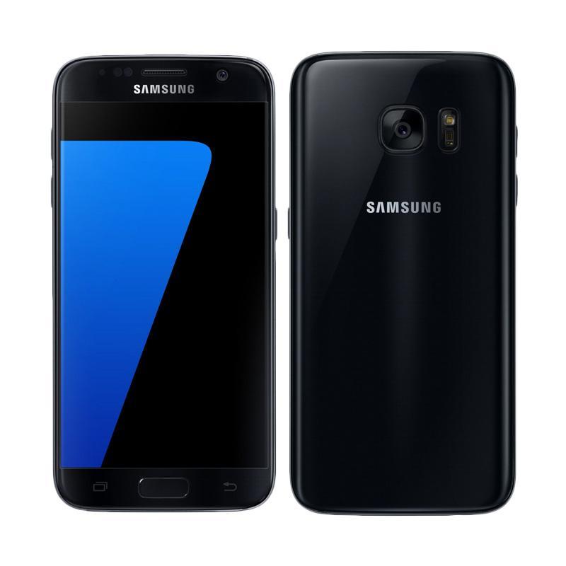 Samsung Galaxy S7 Flat Smartphone - Black [32GB/ 4GB]