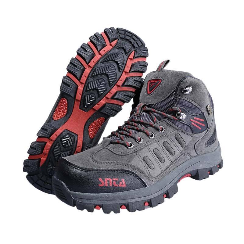 harga Snta 467 Sepatu Gunung - Grey Red Blibli.com