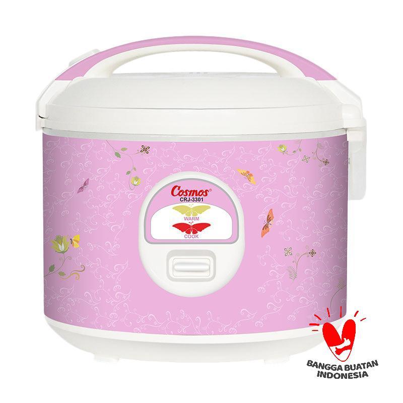 Cosmos CRJ 3301 Rice Cooker - Pink