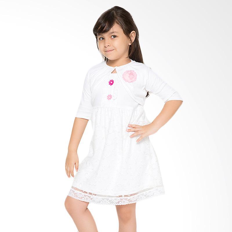 4 You Bolero Tile Dress - Putih