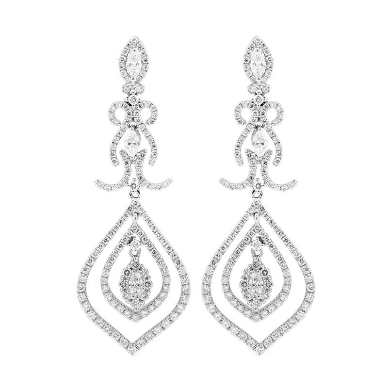 My Jewel WE20021 Diamond Earring