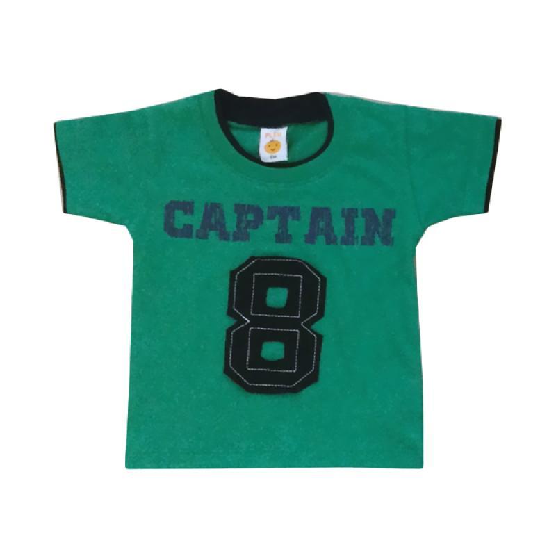 Pleu Captain 8 T-shirt Anak - Green