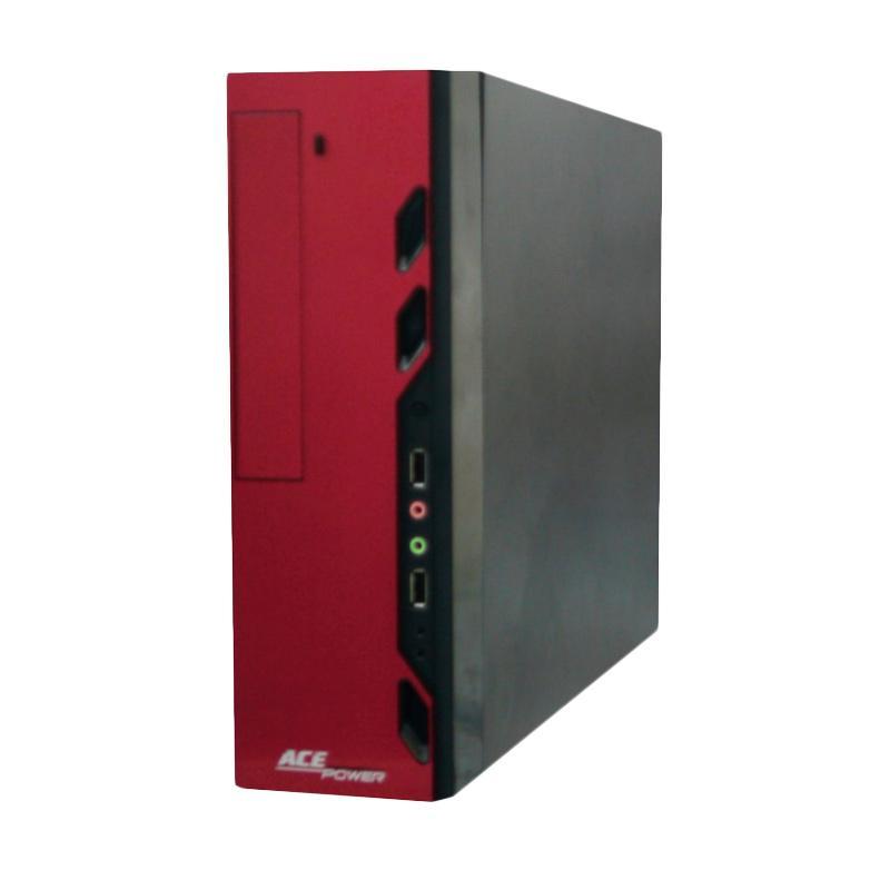 harga ACE POWER TR28M-red Tapir Casing Komputer - Red Blibli.com