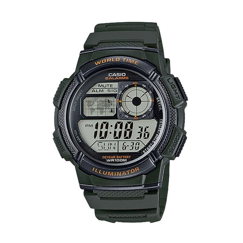 Casio Jam Tangan Unisex AE-1000W-3AVDF
