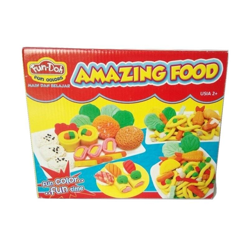 Fun Doh Amazing Food Mainan Anak