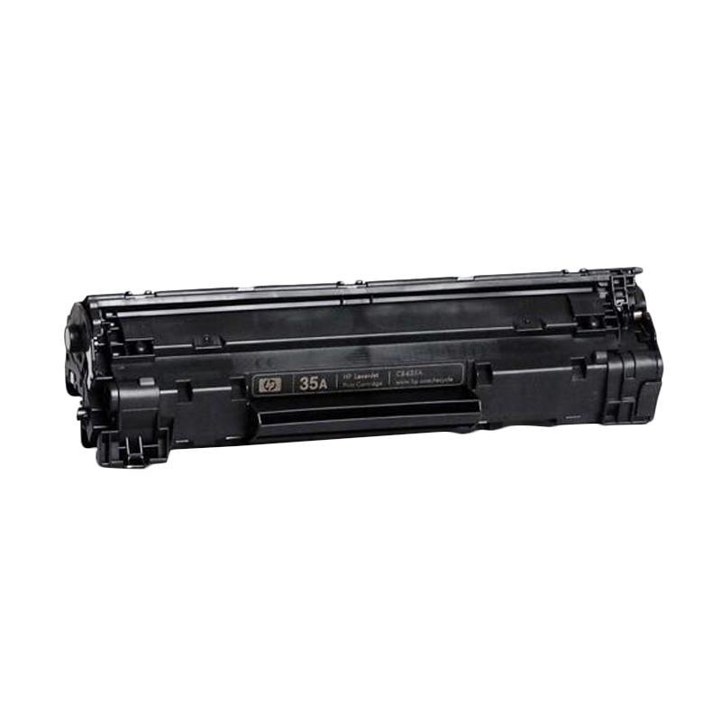 harga HP 35A LaserJet Toner Cartridge - Black Blibli.com