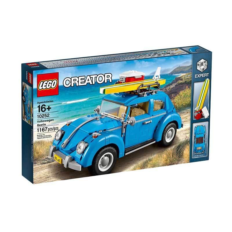 Lego Creator 10252 Volkswagen Beetle Blocks & Stacking Toys