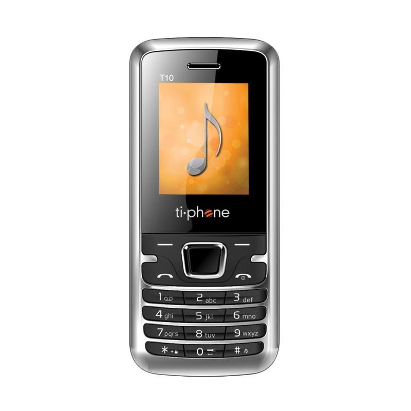 Tiphone T10 Handphone - Black