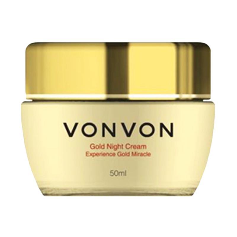 harga VONVON Gold Night Cream 24k Anti-Aging [50 mL] Blibli.com