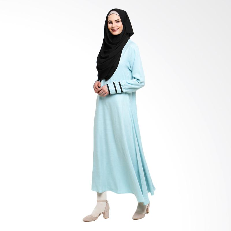 Allev Shafiya Dress - Hijau Mint