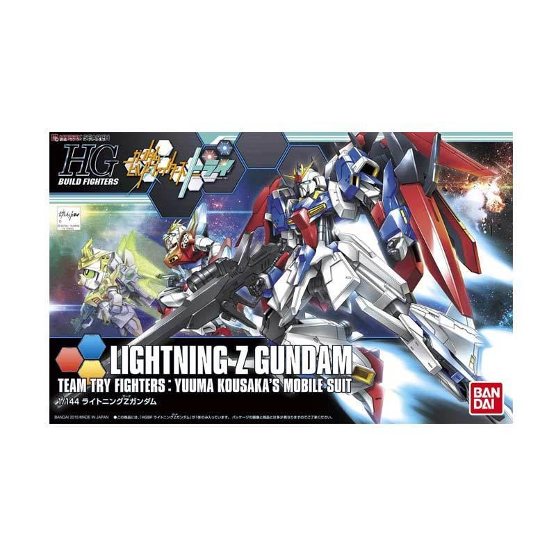 Bandai HGBF Lightning Zeta Gundam Model Kit [1 : 144]