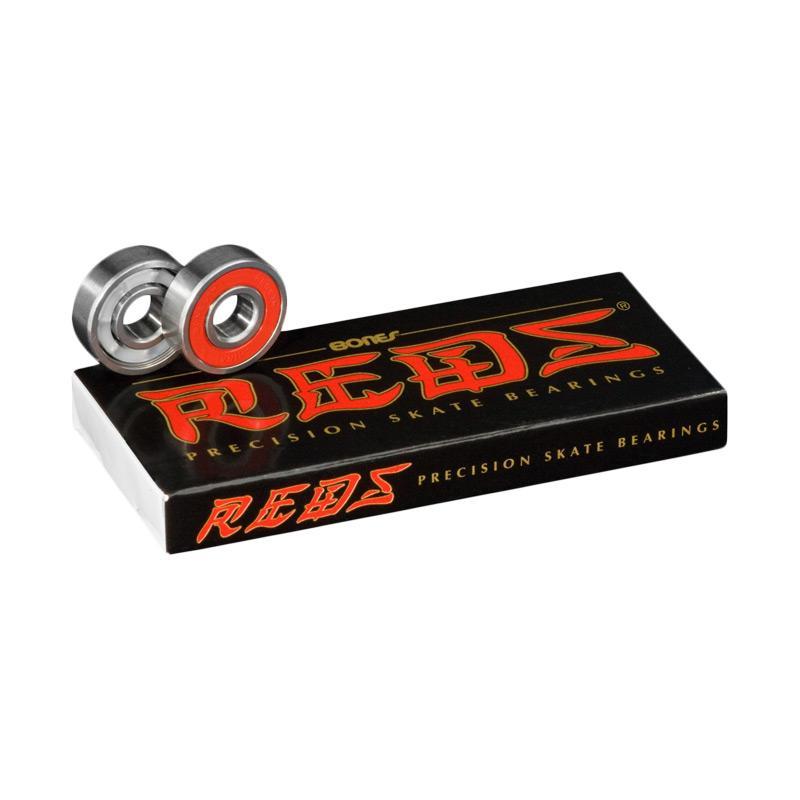 Bones Reds Precision Skate Bearings Aksesoris Skateboard [8 pack]