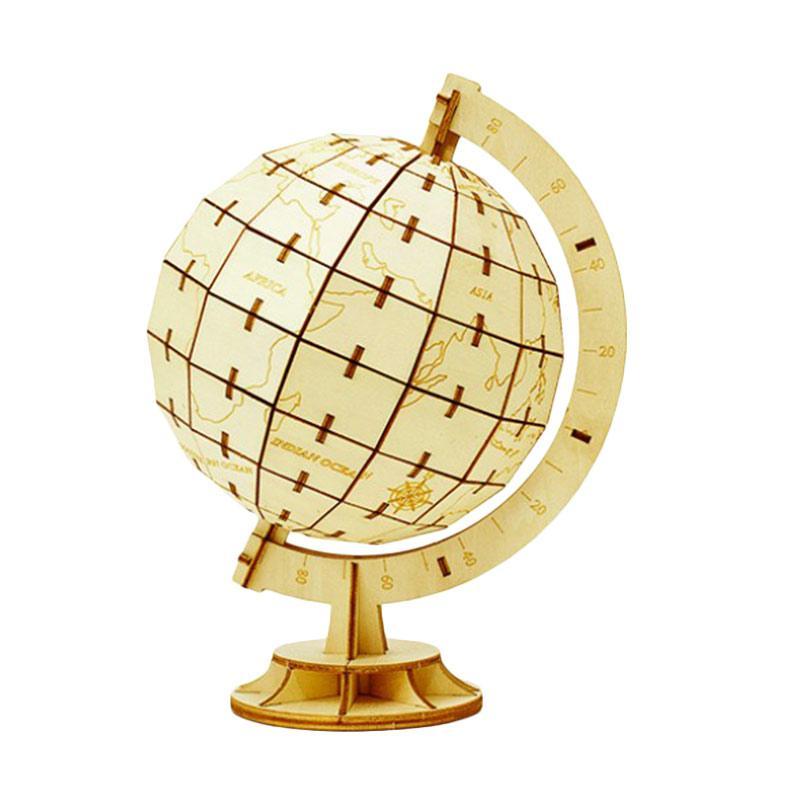 Kigumi World Globe 3D Puzzle