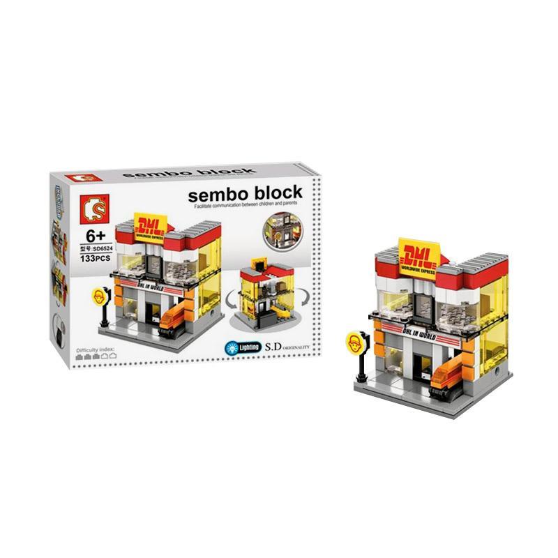Sembo SD6524 DHL Store Mini Blocks