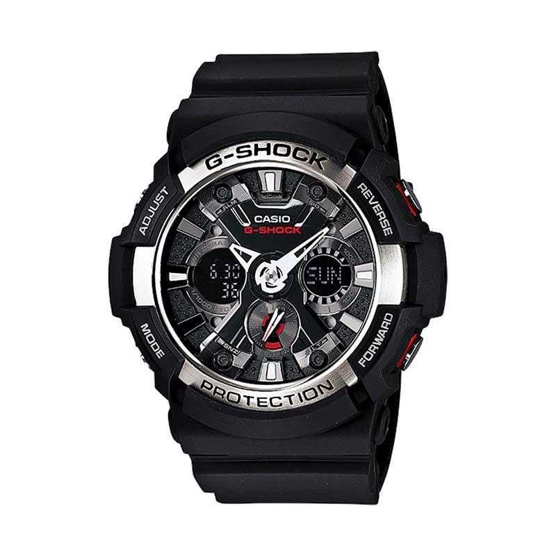 CASIO G-Shock Jam Tangan Pria GA-200-1ADR - Black