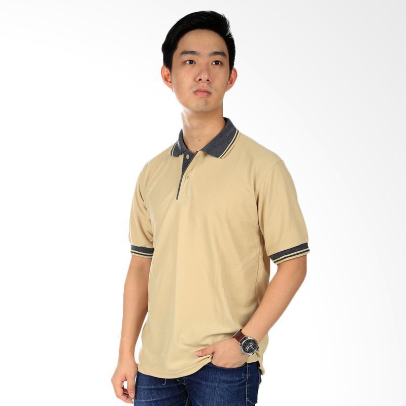 Elfs Shop Kaos Polo Neck Atasan Pria - Khaki Extra diskon 7% setiap hari Extra diskon 5% setiap hari Citibank – lebih hemat 10%