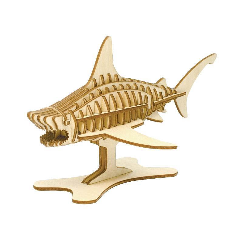 Kigumi Shark 3D Puzzle