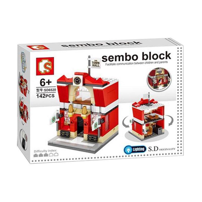 Sembo SD6520 Town Hall Mini Blocks