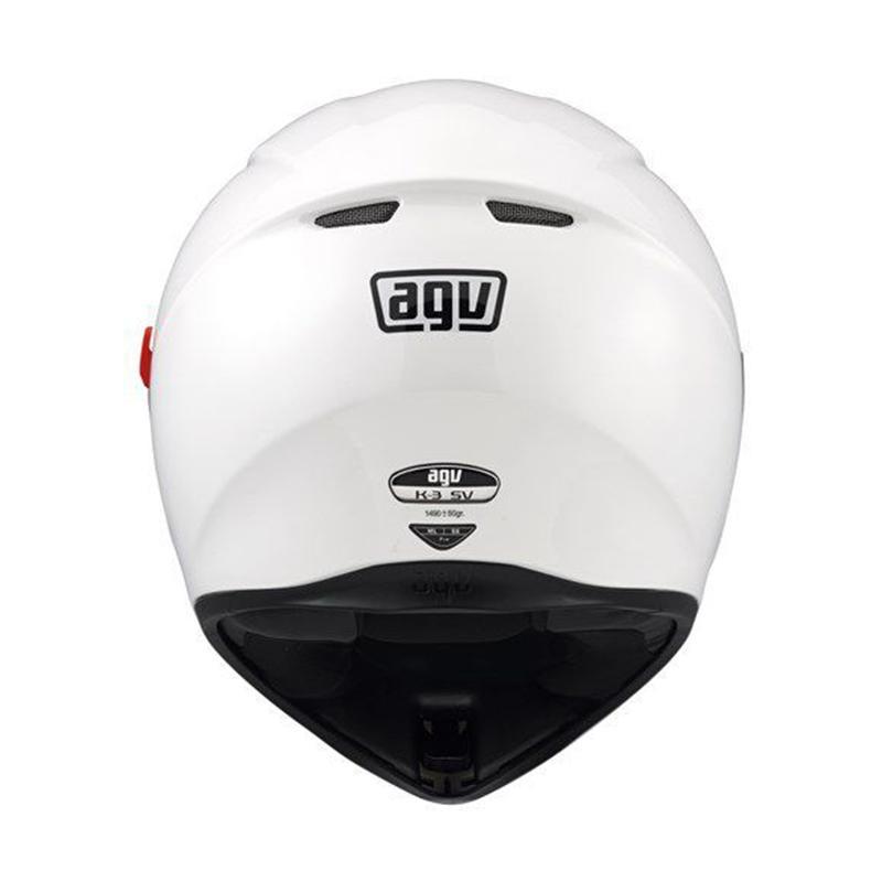 Jual Agv K3 Sv Helm Full Face Solid White Online Maret 2021 Blibli