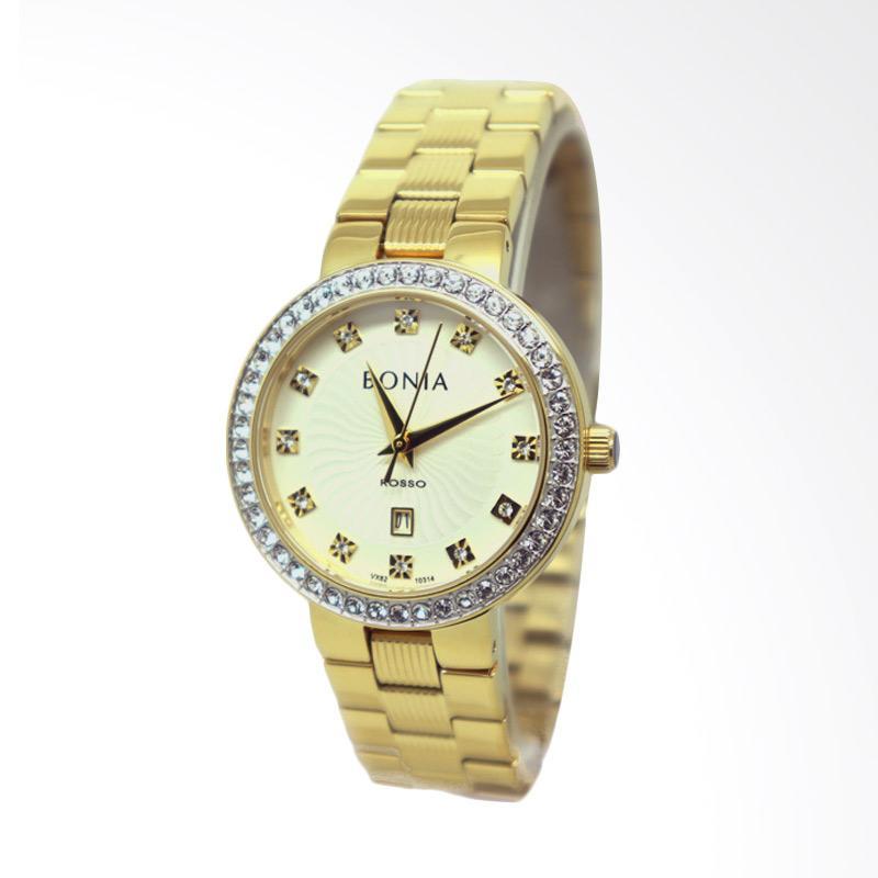 Bonia BNB10314-2217S Jam Tangan Wanita - Gold