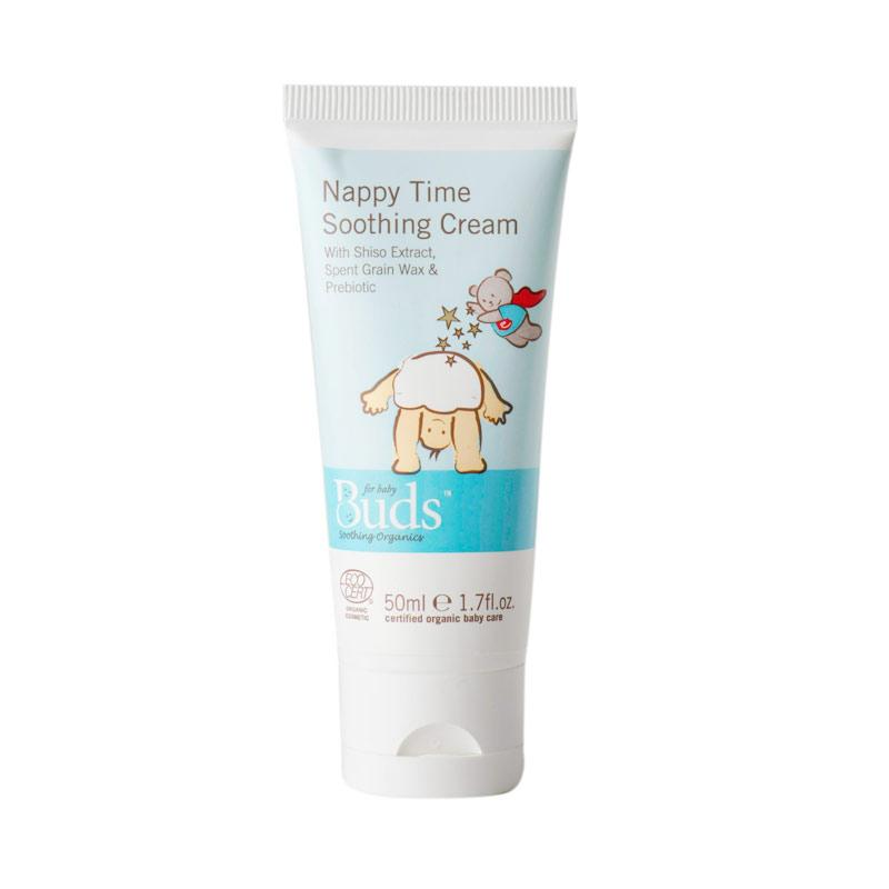 Buds - Nappy Time Soothing Cream - Krim Penghilang Ruam Organik