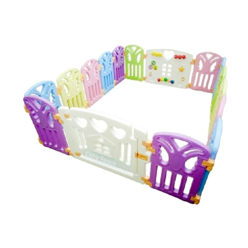 Coby Haus Fence 14 + 2 Butterfly Pagar Pengaman Bayi