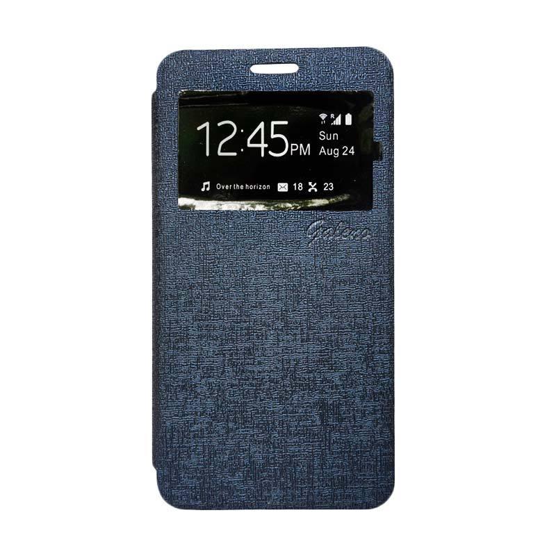 Galeno Flip Cover Casing for Huawei GR3 - Biru