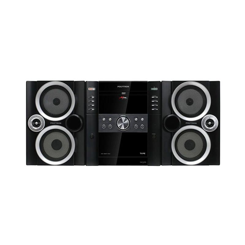 harga Polytron XL 2900 Mini HiFi - Black Blibli.com