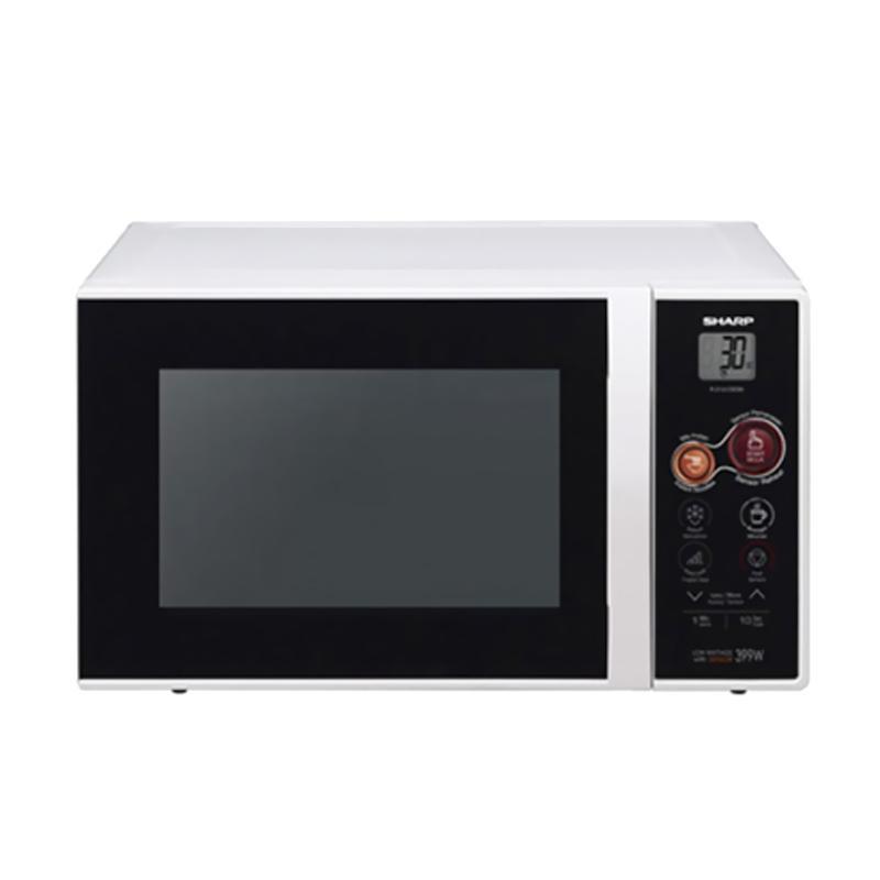 harga SHARP R-21A1W Standard Microwave Blibli.com