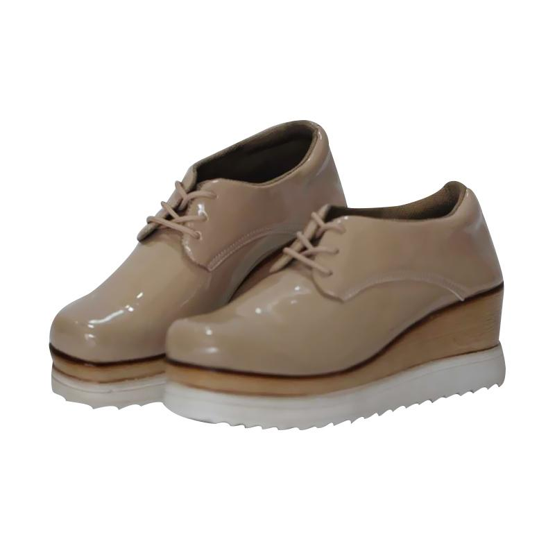 harga Vielin V007 Sepatu Wedges - Cream Blibli.com