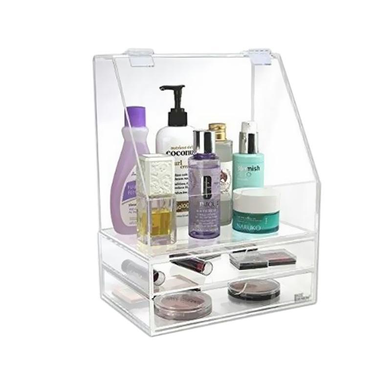 Acrylic Bok MakeUp + 2 Laci Make Up Organizer