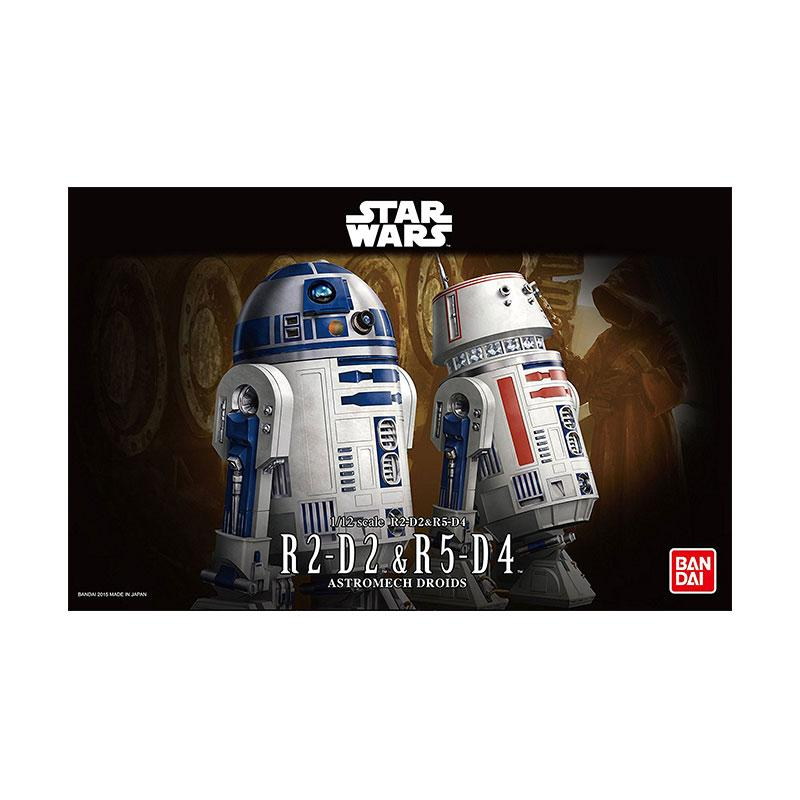 Bandai Star Wars R2-D2 & R5-D4 Model Kit [1:12]