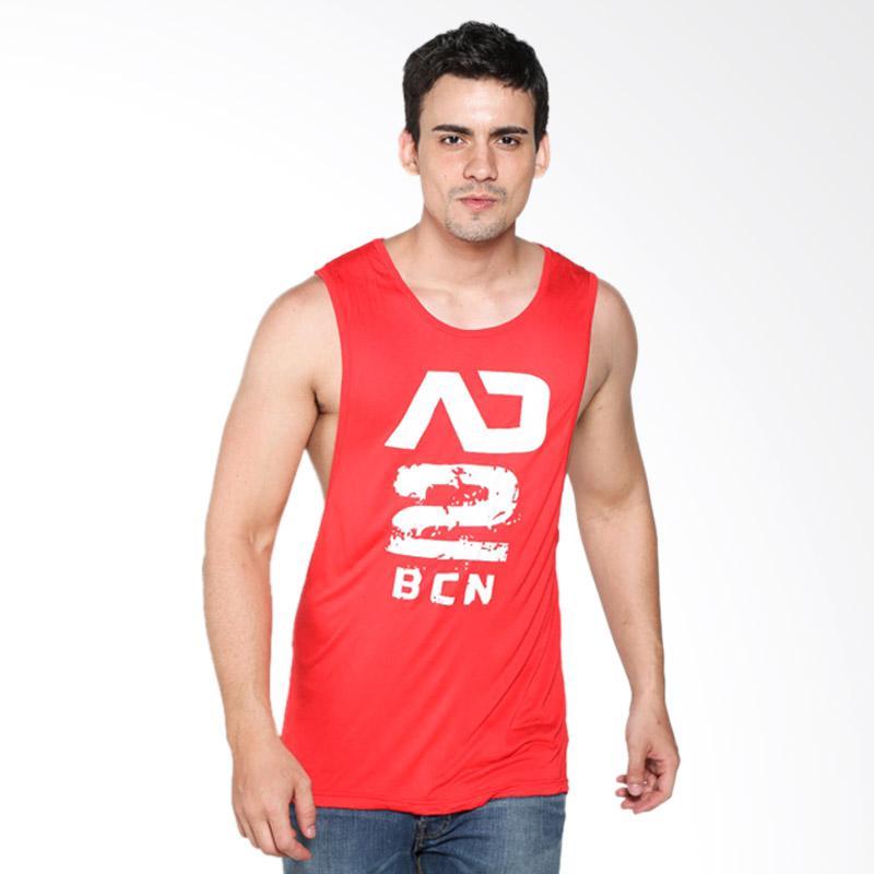 Boostwear Low Rider 2 Tank Top - Merah