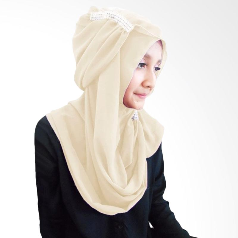 Milyarda Ring Hijab - Cream