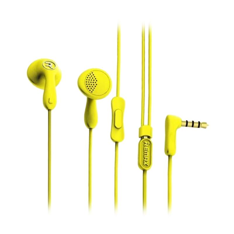 Remax RM301 Candy Headset - Yellow