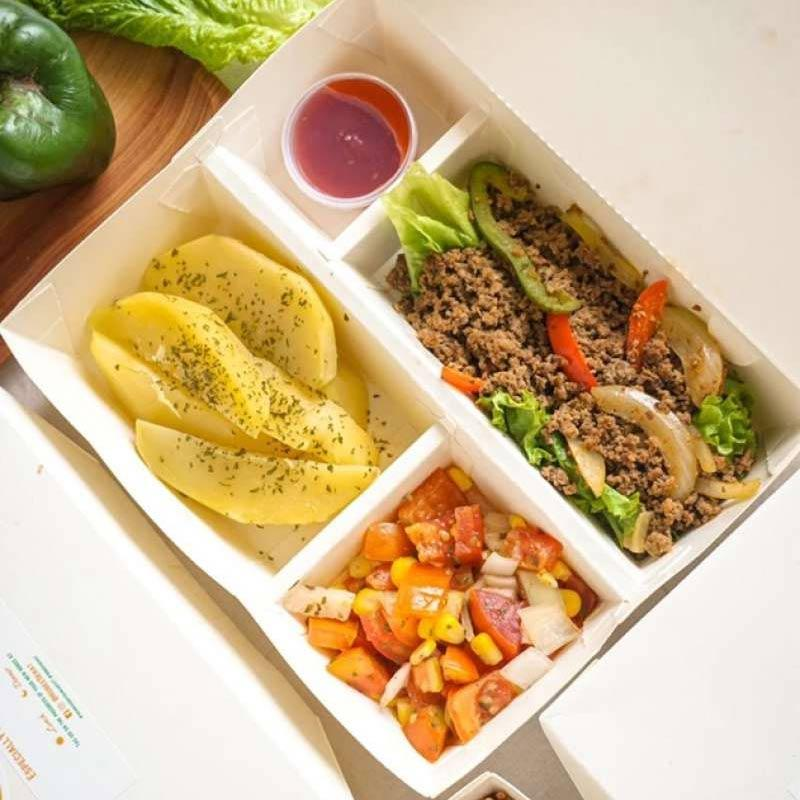 Hobee Sehat Lunch OR Dinner Only Healthy Catering [5 Days/ 5 Box]