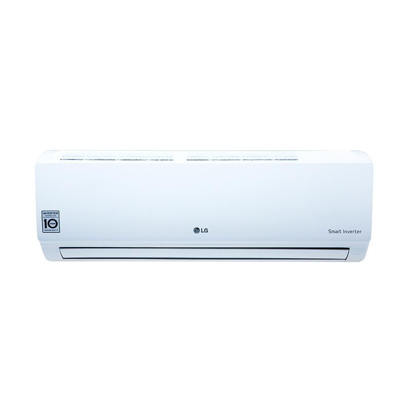 LG T06EMV Inverter AC Split ��� Putih [0.5 PK/Khusus Jadetabek]