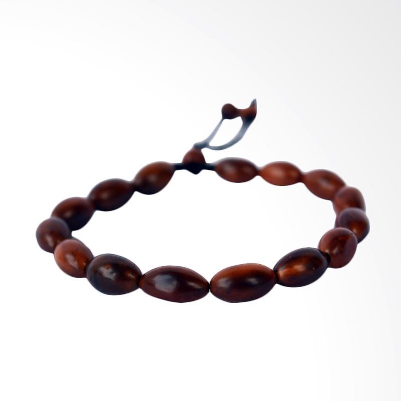 harga Riza Craft Kaukah Oval Gelang Kokka - Coklat [Bersertifikat] Blibli.com