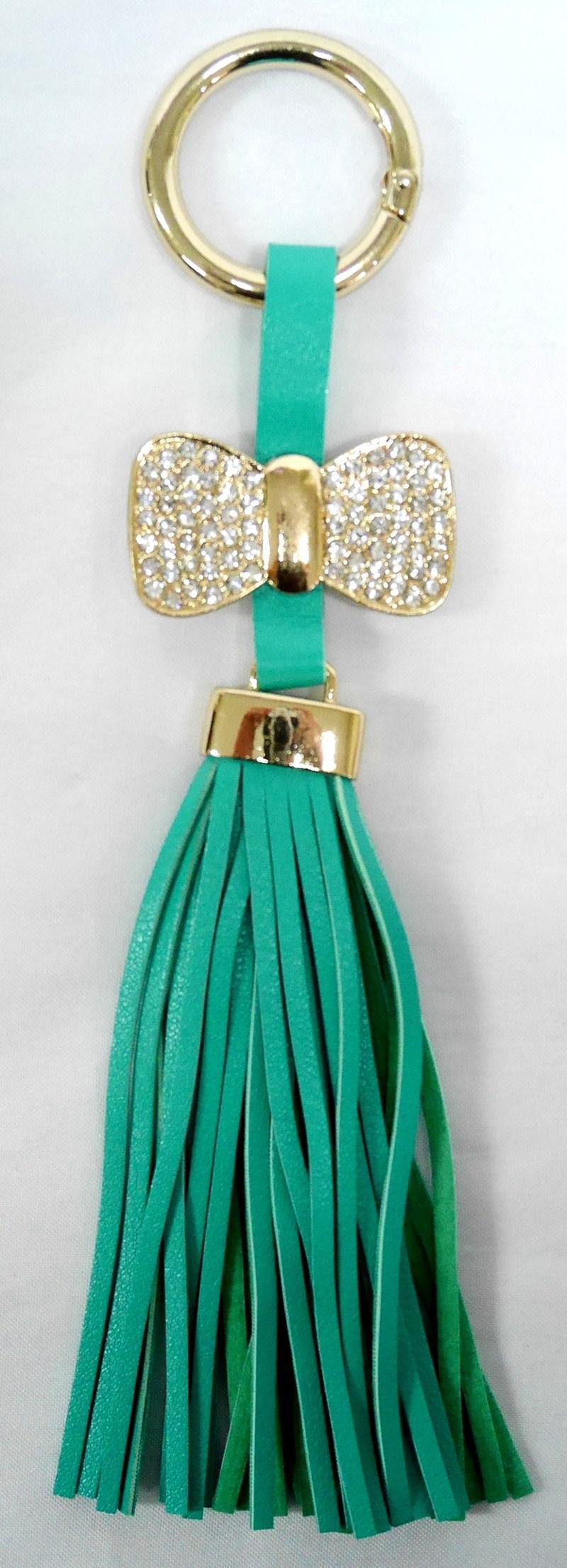 SIV GT RK02 Rumbai Ribbon with Manik Key Chain - Green