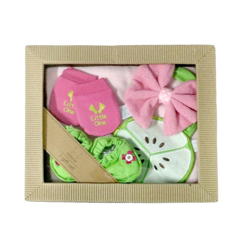 Cribcot Knitted Gift Set - Pink