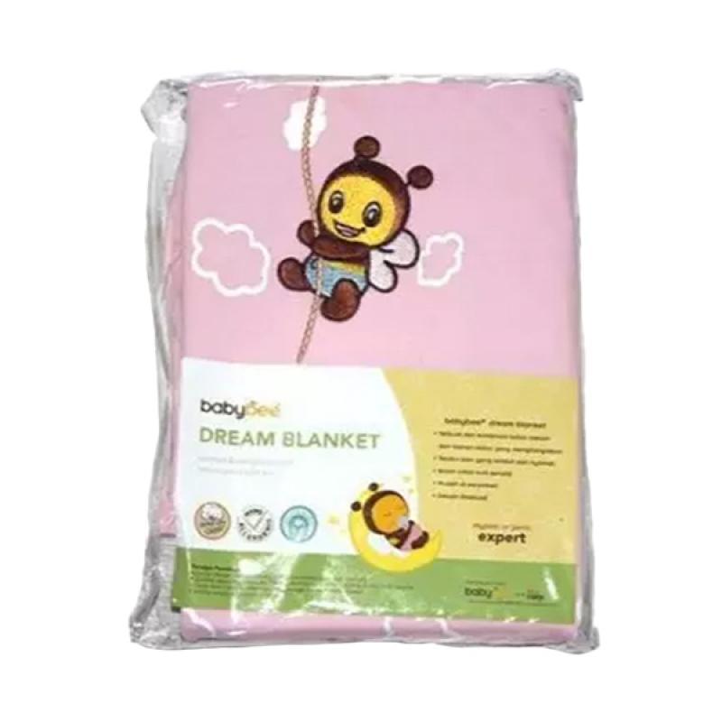 Babybee Dream Print Blanket Selimut Bayi - Pink