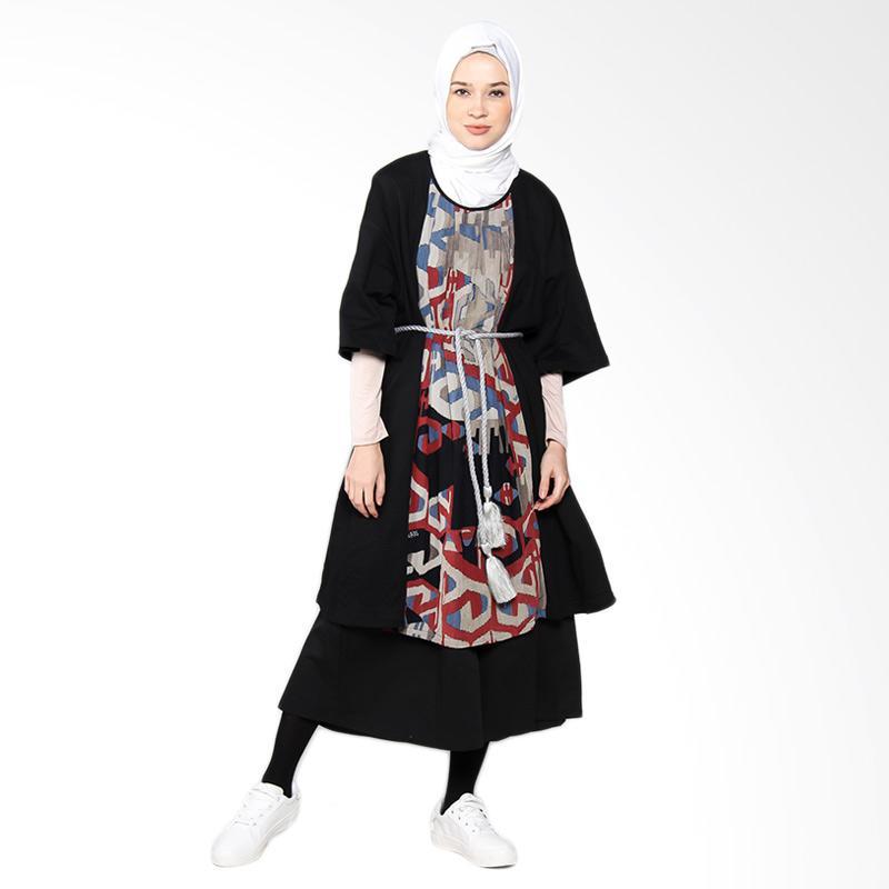 Artenesia Frida IEDDRS01 Dress Muslim - Black