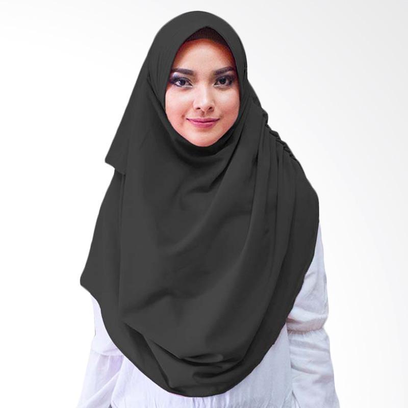 Milyarda Hijab Dravia Hijab Instan - Hitam