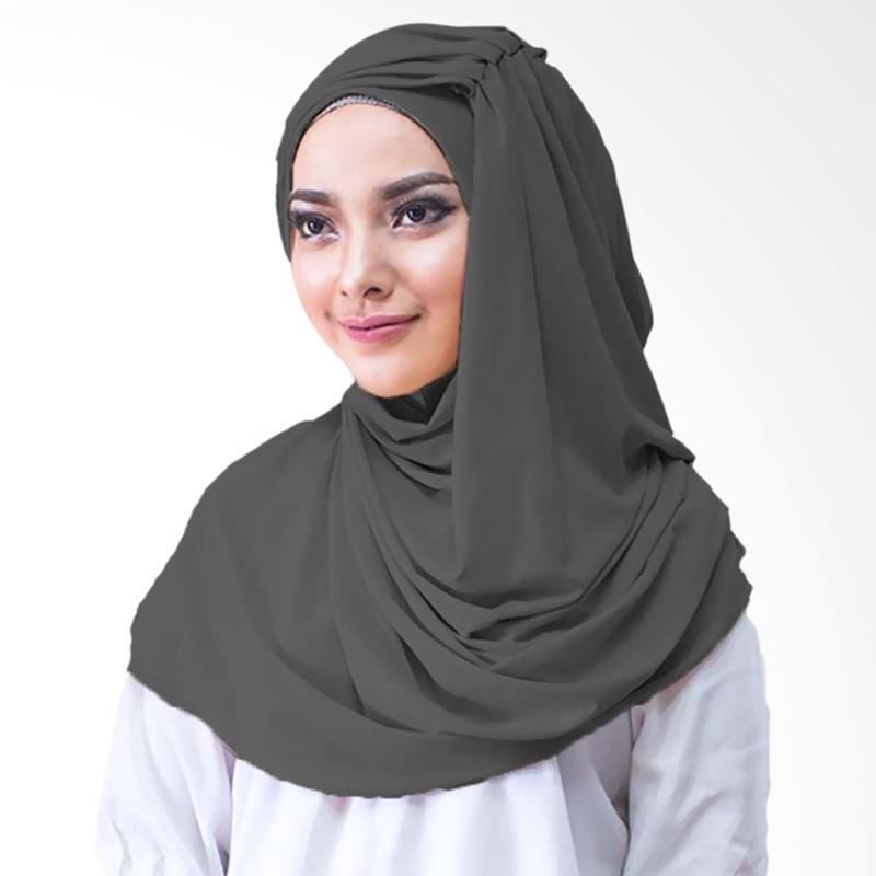 Milyarda Hijab Alesyana Jilbab Instan - Hitam