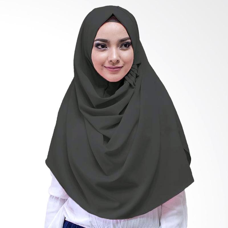 Milyarda Hijab LCB Laudya Jilbab Instan - Hitam
