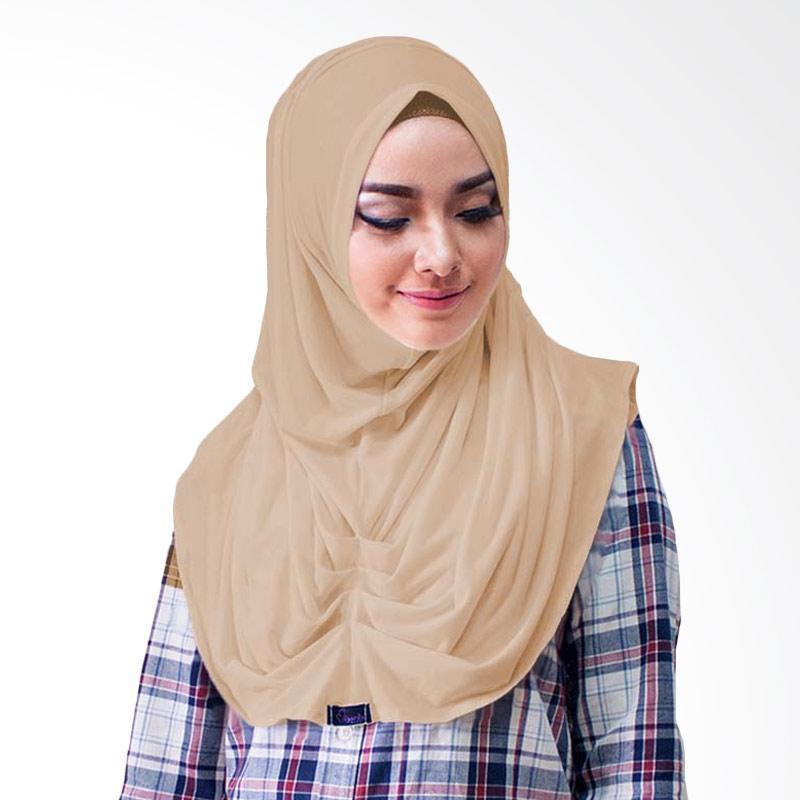 Milyarda Hijab Loly Jilbab Instant - Coklat Susu