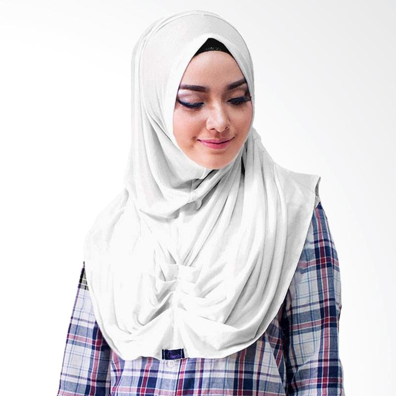 Milyarda Hijab Loly Jilbab Instant - Putih