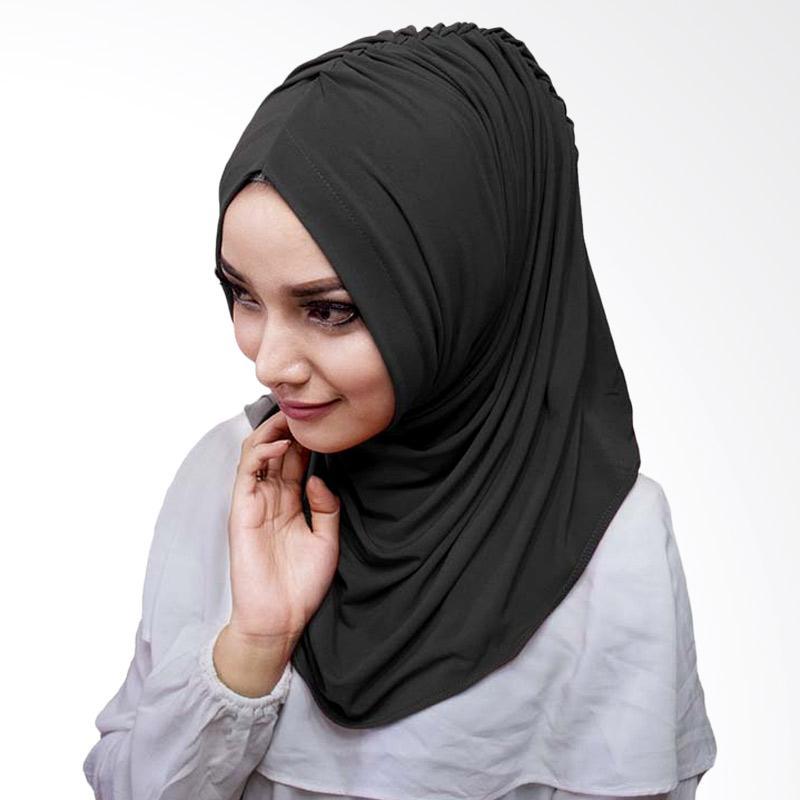 Milyarda Hijab Medirala Jilbab Instan - Hitam