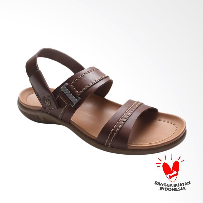 GRUTTY Sandal Pria - Tan GR 81-095