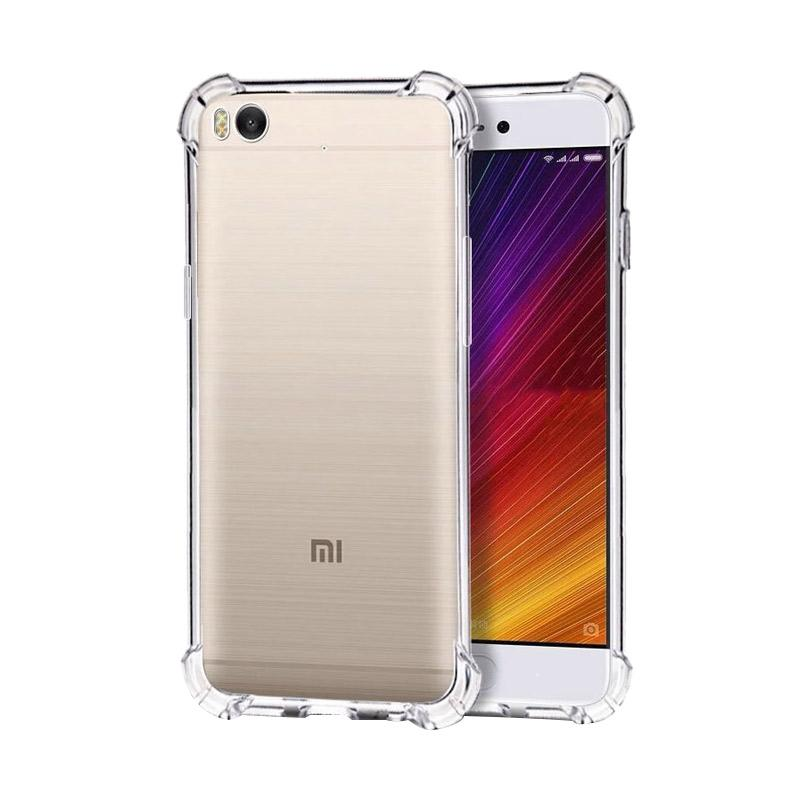 OEM Anti-Crack TPU Casing for Xiaomi Mi5s Transparan